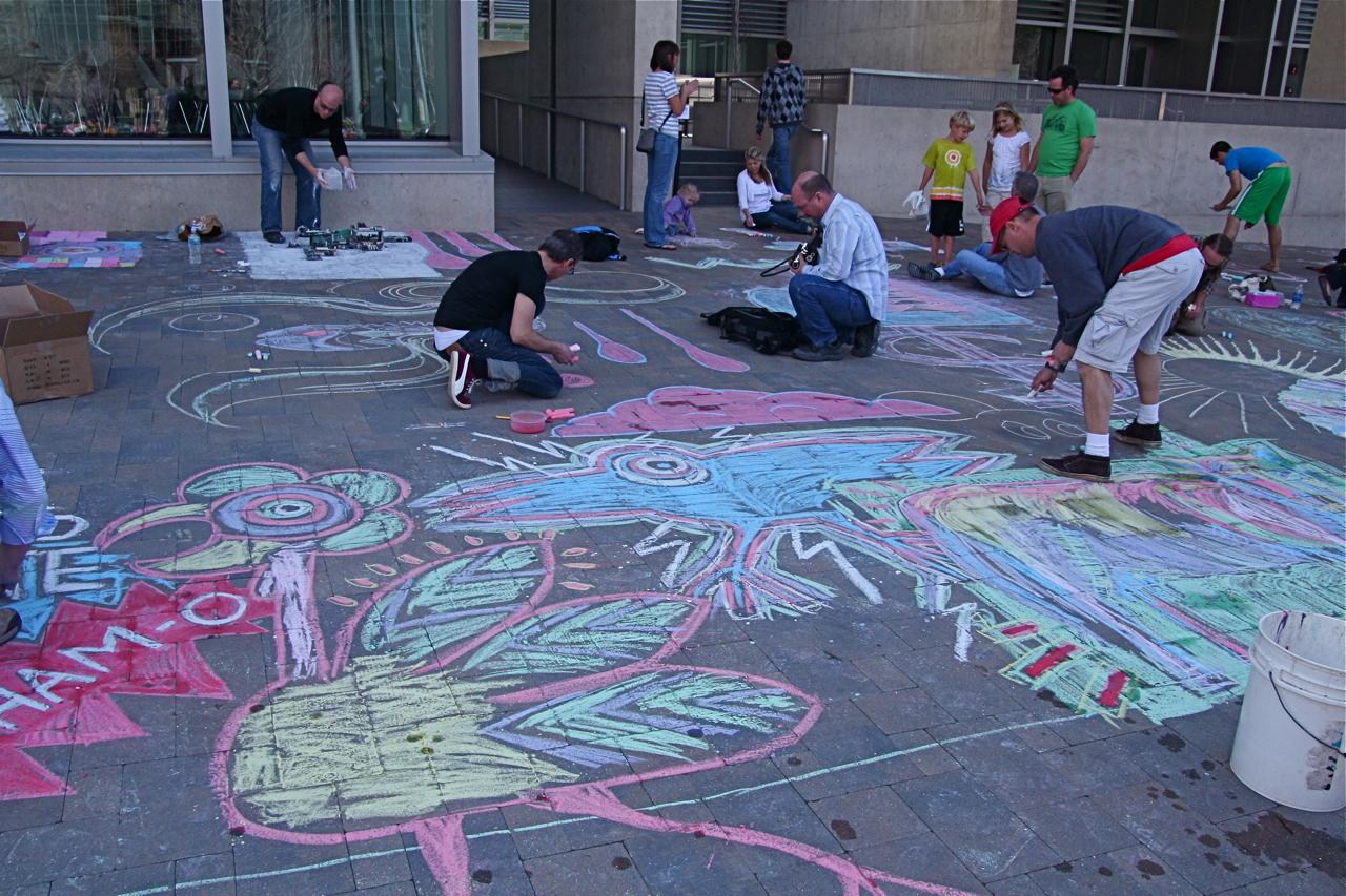 Sidewalk Chalk   Sam's Online Journal