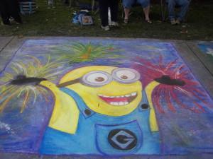 Sidewalk Chalk Art 2013